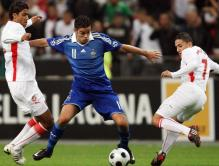 Foot : France-Tunisie - Match amical - Stade de France - 14.10.2008